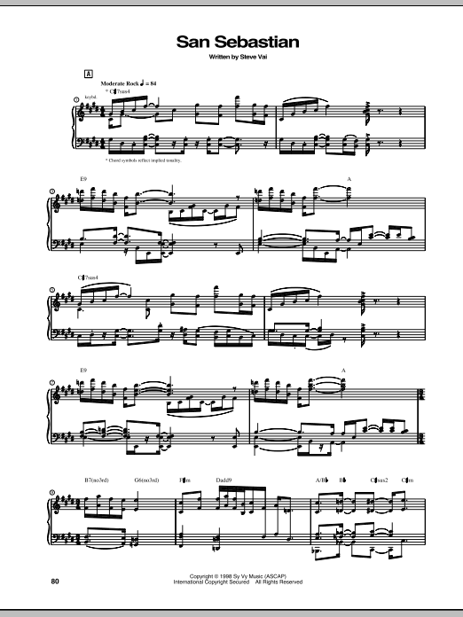 San Sebastian Sheet Music