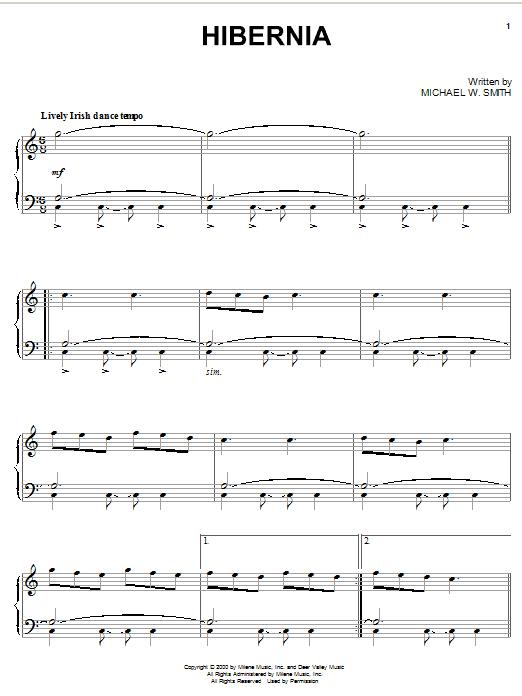 Hibernia (Piano Solo)