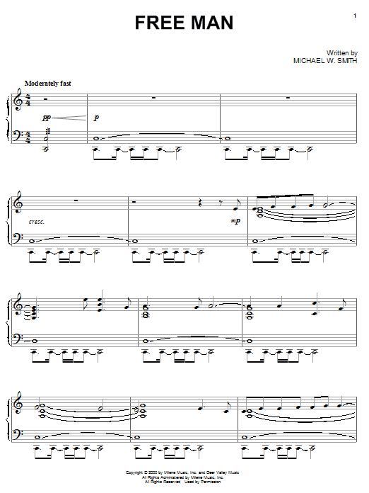 Free Man (Piano Solo)