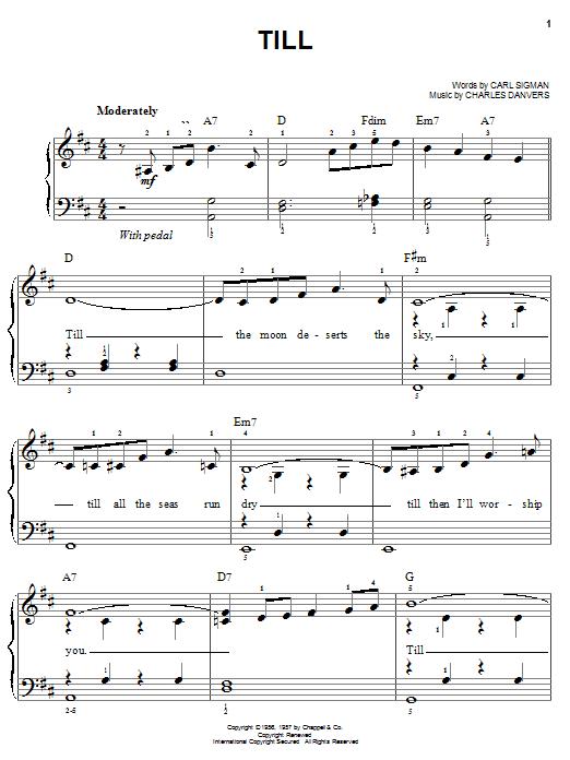 Till Sheet Music