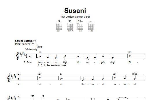 Susani Sheet Music