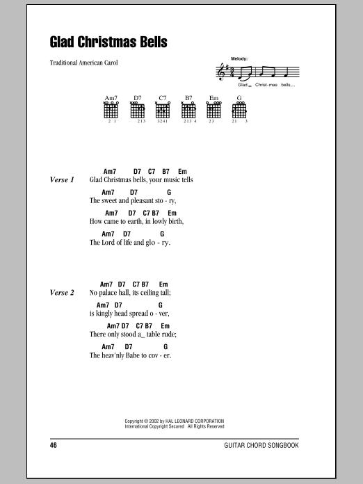 Glad Christmas Bells Sheet Music