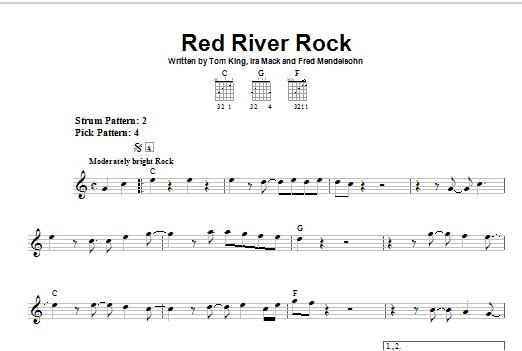 Red River Rock Sheet Music