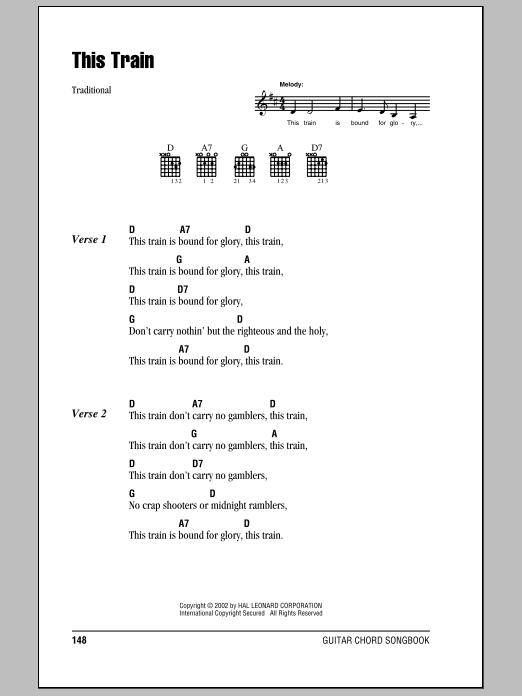 This Train Sheet Music