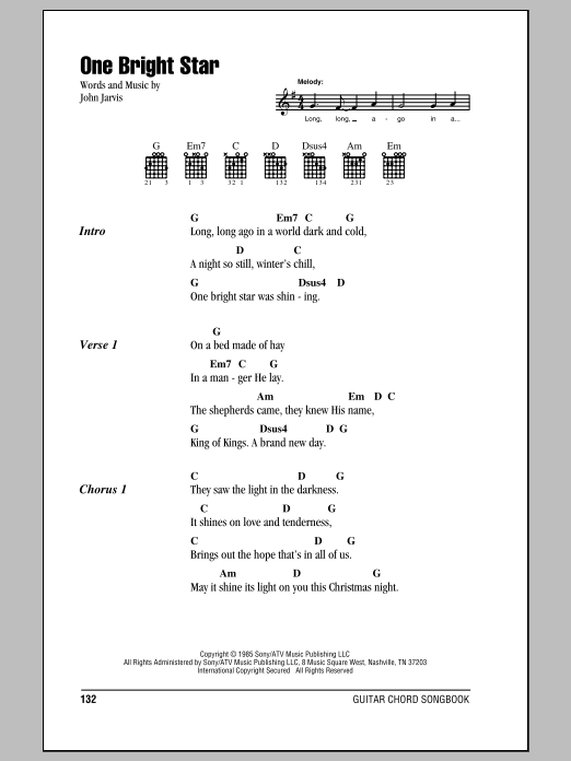 One Bright Star | Sheet Music Direct