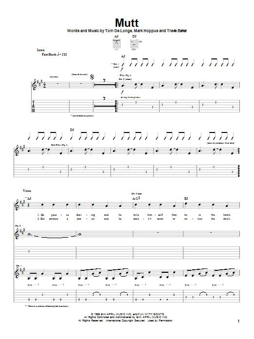 Mutt Sheet Music