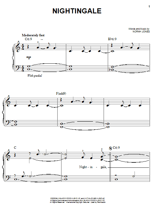 Nightingale (Easy Piano)