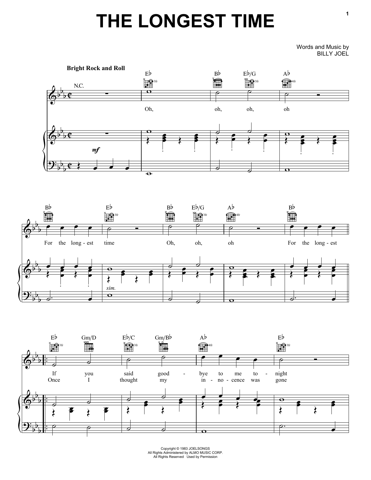 Sheet Music Digital Files To Print - Licensed Movin' Out