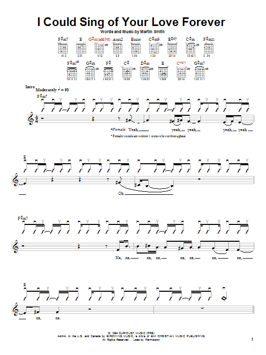 Sheet Music Digital Files To Print - Licensed Passion Band