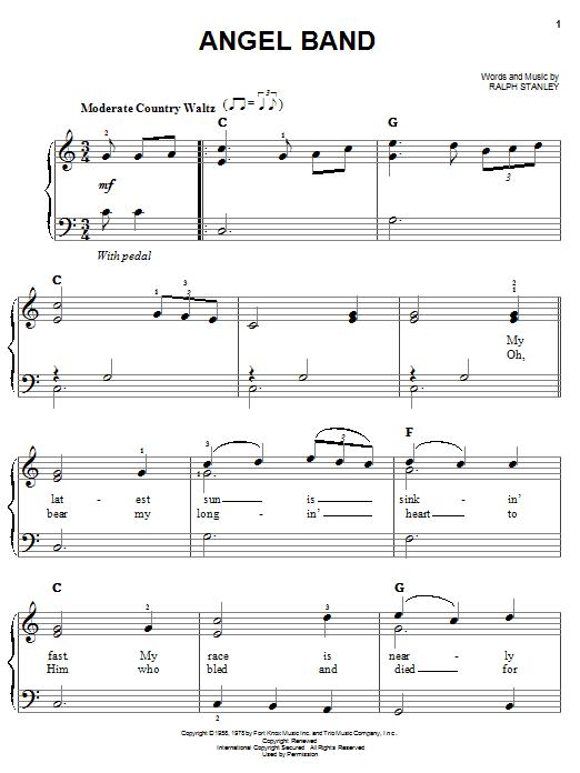 Angel Band (Easy Piano)