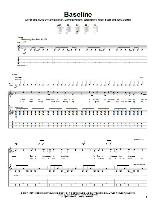 Baseline (Guitar Tab)
