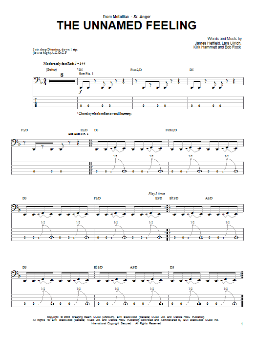 The Unnamed Feeling Sheet Music