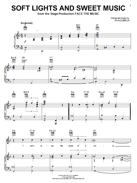 page one of Soft Lights And Sweet MusicASALTTEXT