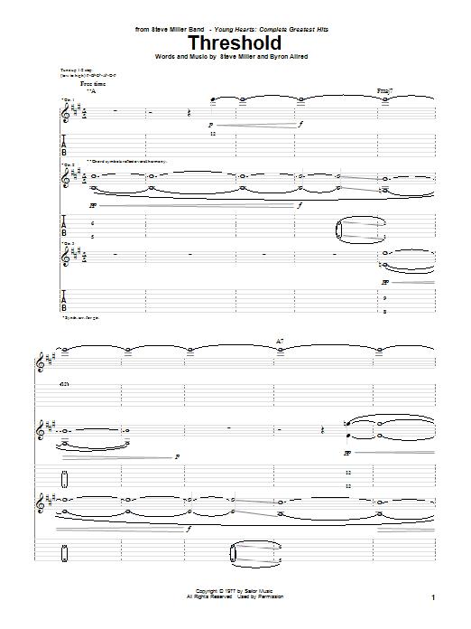Threshold Sheet Music