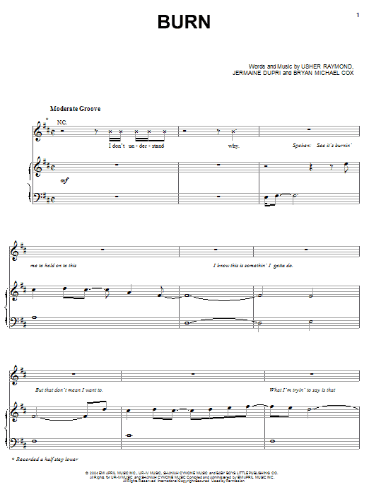 burn piano sheet music - Mersn.proforum.co