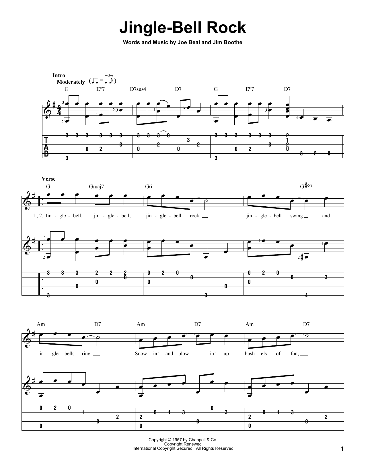 Jingle-Bell Rock : Sheet Music Direct