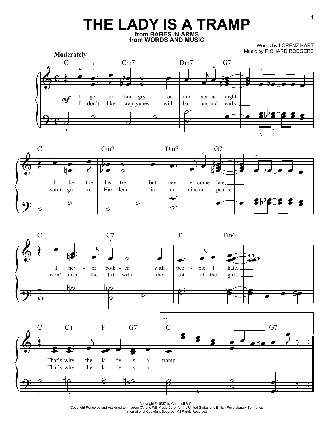 Sheet Music Digital Files To Print - Licensed Ella