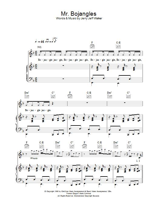 Mr. Bojangles (Piano, Vocal & Guitar)