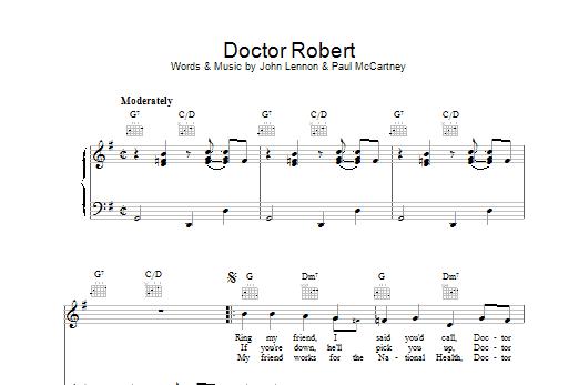 Doctor Robert Sheet Music
