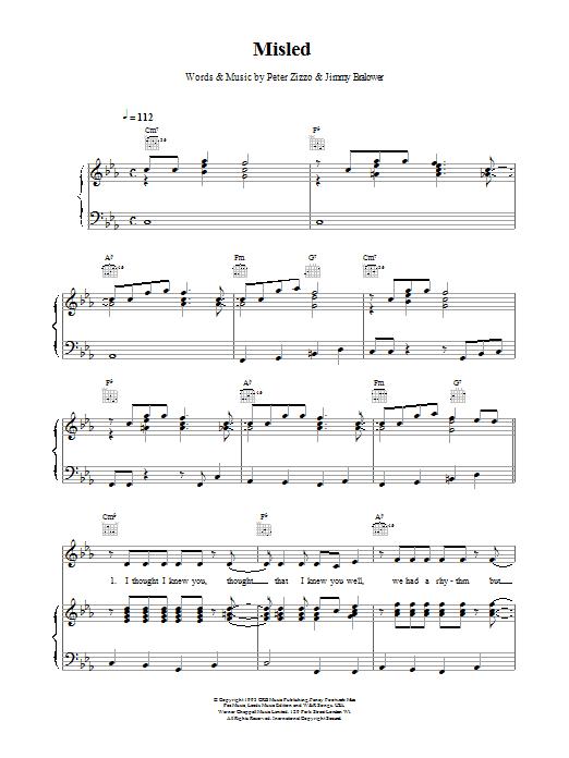 Misled Sheet Music