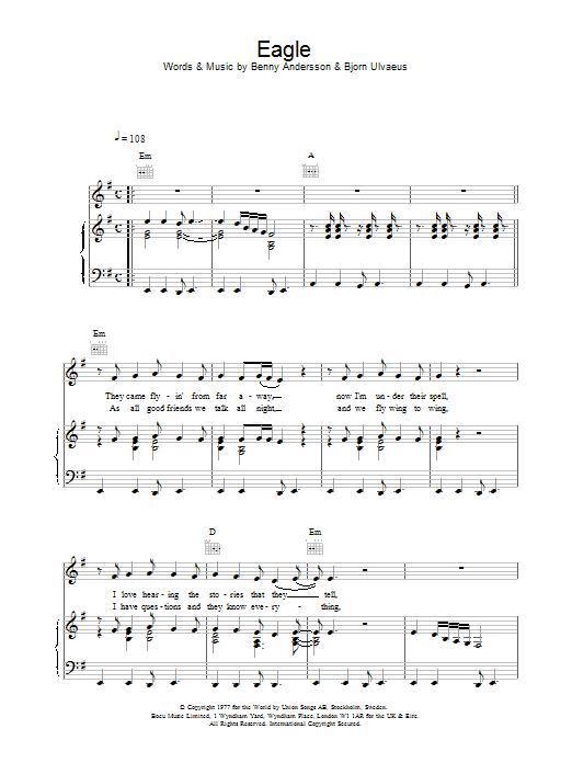 Eagle Sheet Music