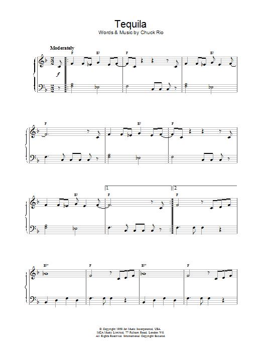 Tequila (Piano Solo)