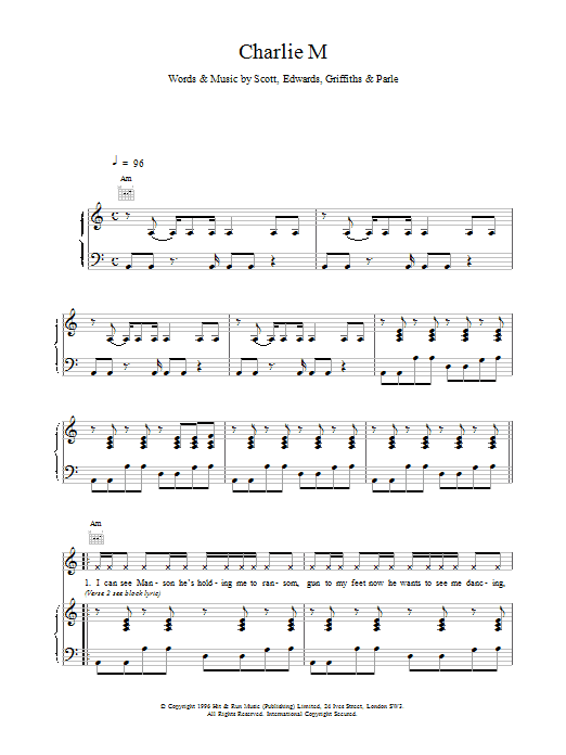 Charlie M Sheet Music