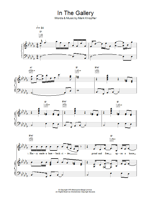 In The Gallery Sheet Music