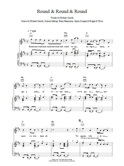 Round & Round & Round Sheet Music