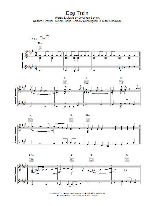 Dog Train Sheet Music