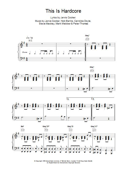 This Is Hardcore Sheet Music