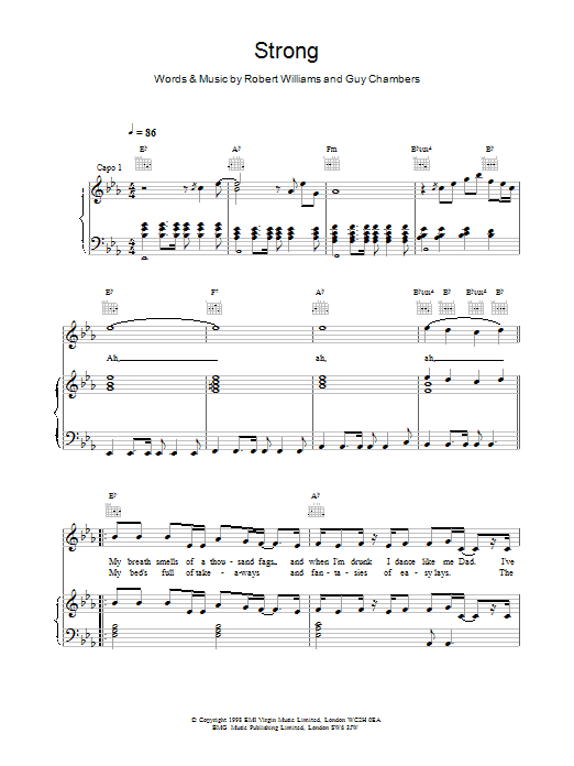 Strong Sheet Music