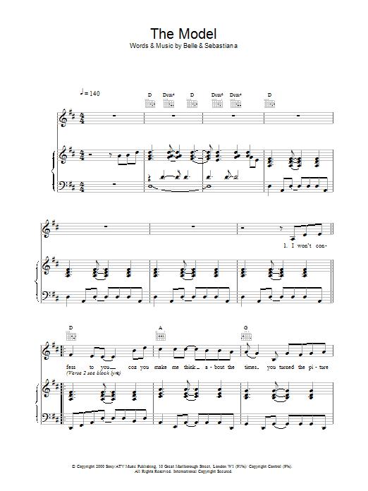 The Model Sheet Music