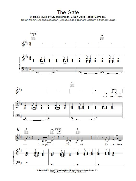 The Gate Sheet Music