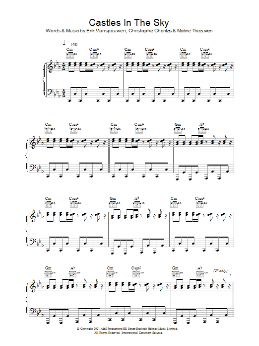 Castles In The Sky Sheet Music