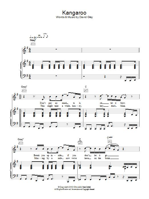 Kangaroo Sheet Music
