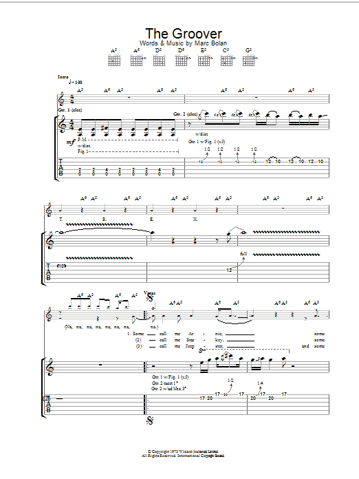 The Groover Sheet Music