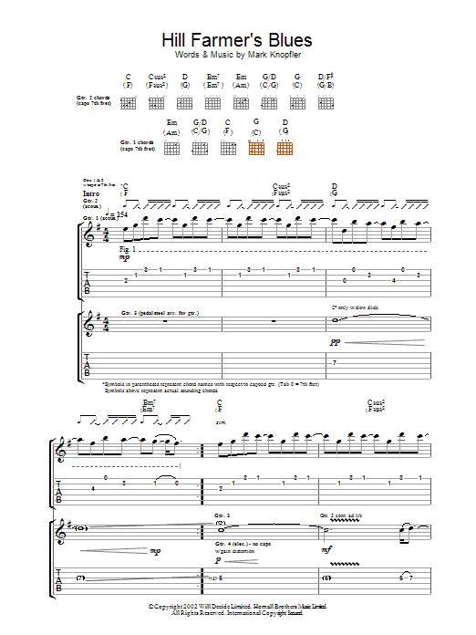 Hill Farmer's Blues (Guitar Tab)