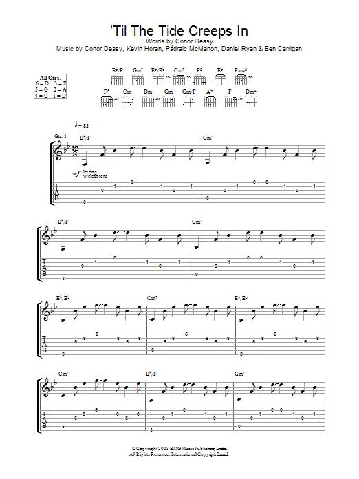 'Til The Tide Creeps In (Guitar Tab)