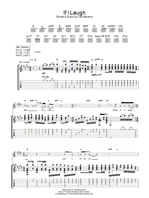 If I Laugh Sheet Music