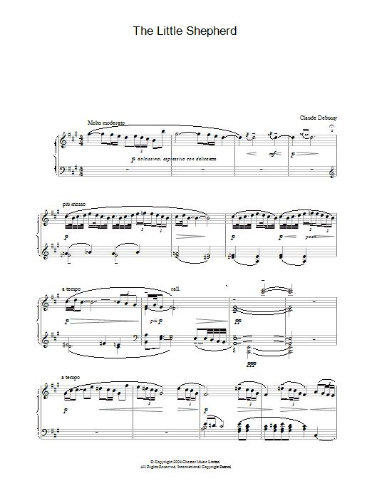 The Little Shepherd (Piano Solo)