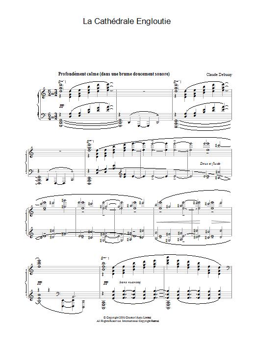 La Cathédrale Engloutie (Piano Solo)