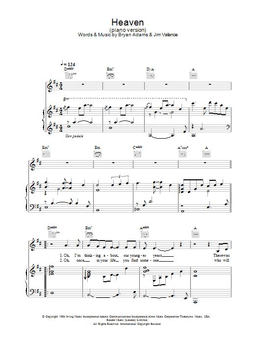 i see heaven chords pdf
