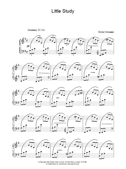 Little Study Sheet Music