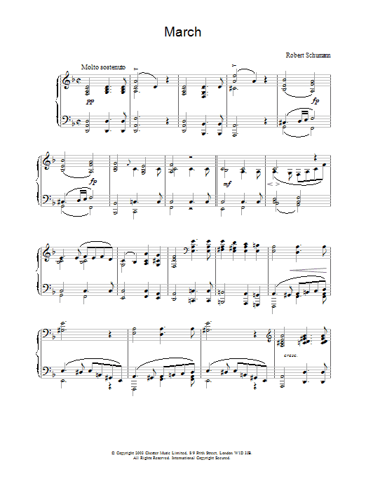 March (Piano Solo)