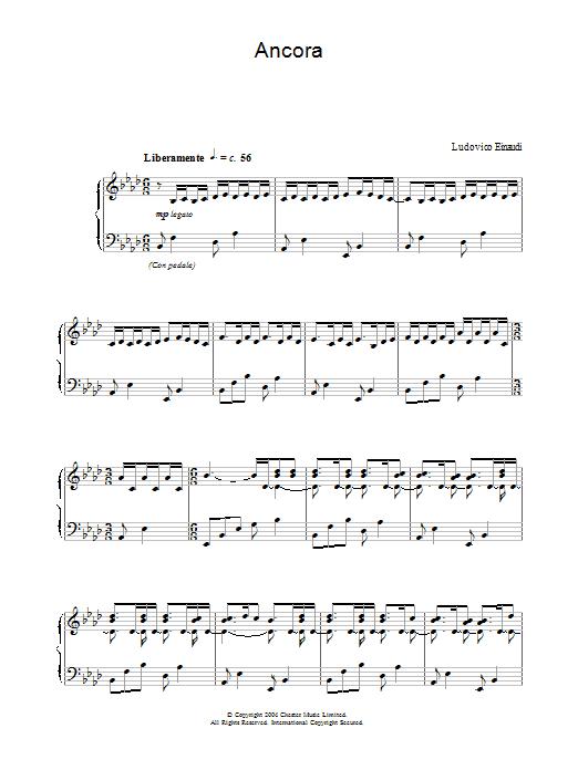 Ancora (Piano Solo)