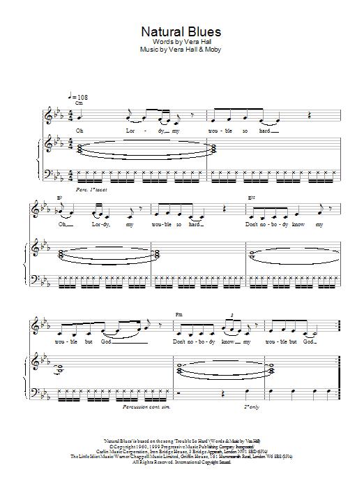 Natural Blues Sheet Music