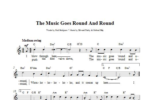 The Music Goes Round And Round Sheet Music