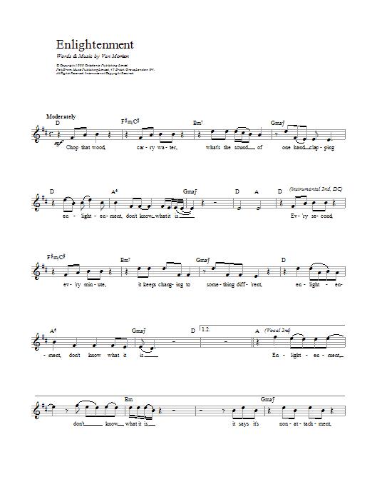 Enlightenment Sheet Music
