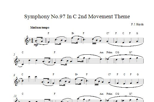 Symphony 97 Sheet Music